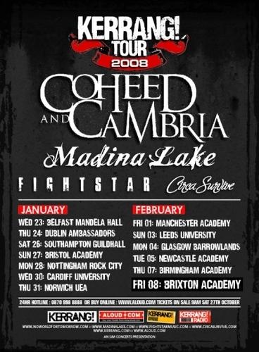 Kerrang Tour 2008