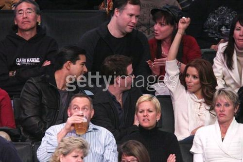 Kevin Connolly LA Lakers Game