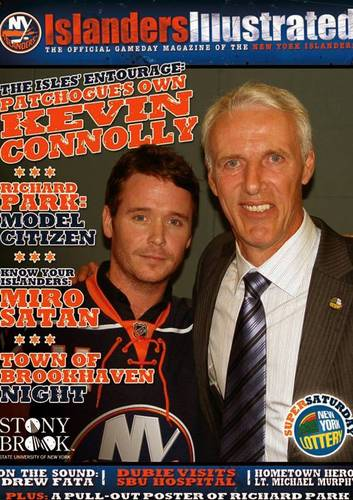 Kevin Connolly and Mike Bossy