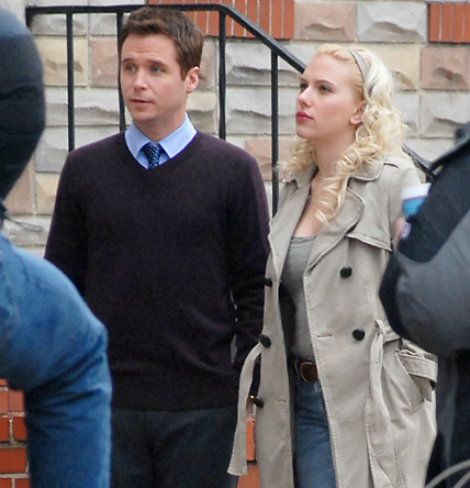 Kevin Connolly and Scarlett J