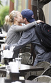Kevin Connolly kisses Hayden P