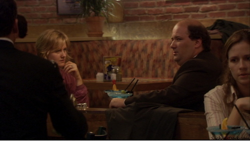 Kevin and Stacy in The Dundies