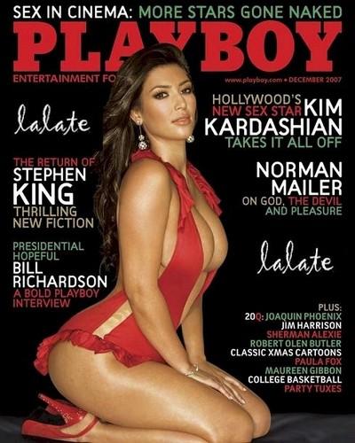 Kim Kardashian - 花花公子 cover