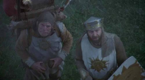 Monty Python wallpaper entitled King Arthur and Patsy