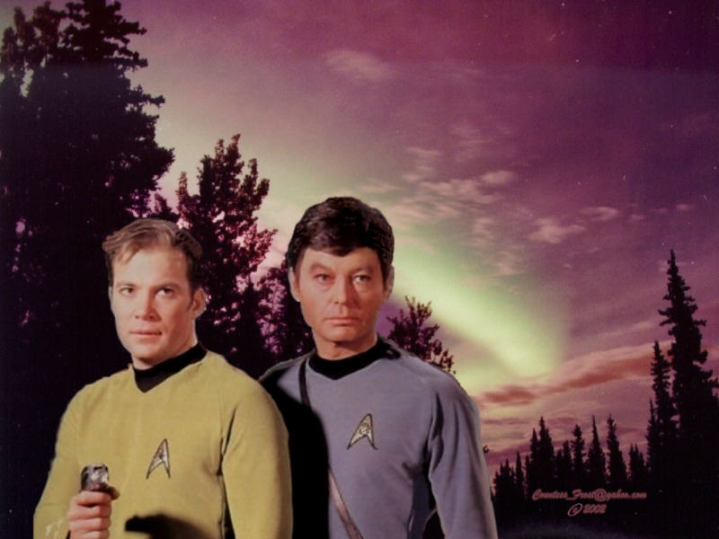 Kirk & Bones