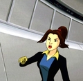 Kitty Pryde in the danger room