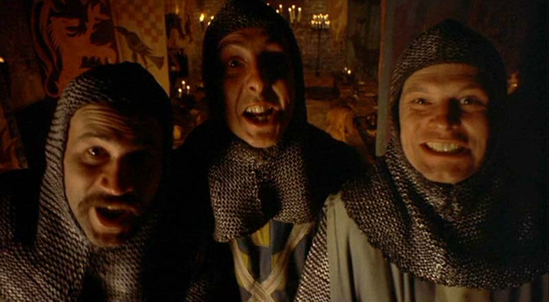 Incroyable Knights Of The Round Table   Monty Python Photo (380129 ...