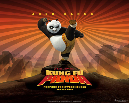 Filem kertas dinding called Kung Fu Panda