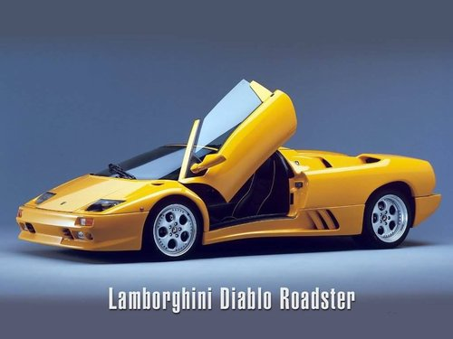 LAMBORGHINI -YELLOW-
