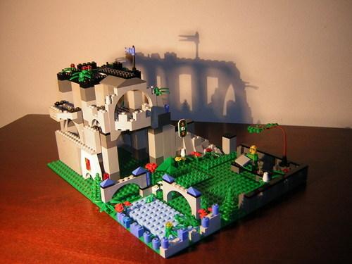 LEGO istana, castle