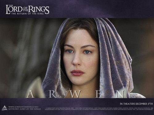 el señor de los anillos fondo de pantalla called Arwen