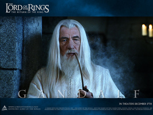 Lord of the Rings wallpaper entitled Gandalf