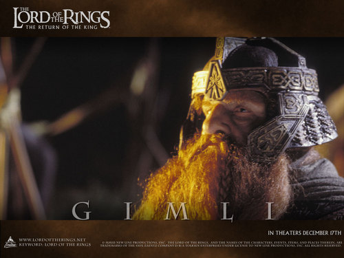 Gimli - LOTR wallpaper
