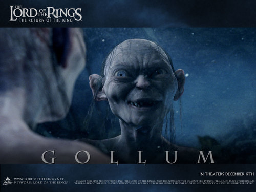 Gollum - lord-of-the-rings Wallpaper