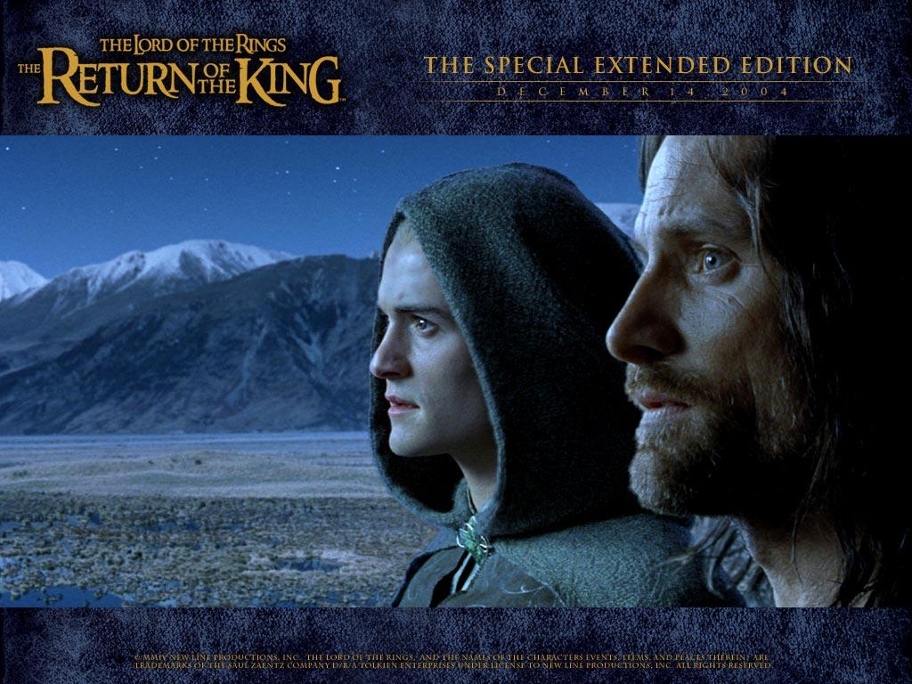 Legolas & Aragorn - LOTR wallpaper