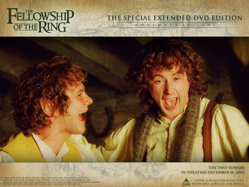 Merry & Pippin - Lord of the Rings Wallpaper (492193) - Fanpop