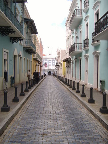 Puerto Rico images La Fortaleza Street wallpaper and background photos