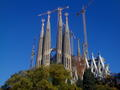 La Sagrada Familia - architecture wallpaper