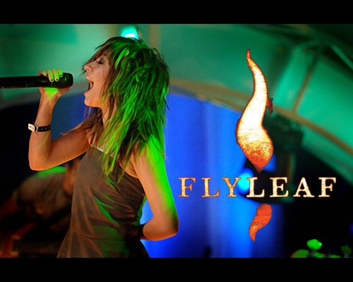 Flyleaf wallpaper called Lace Mosley