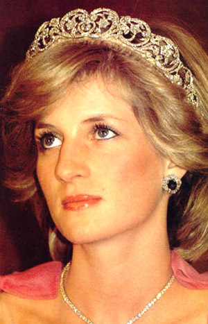 Princess Diana achtergrond titled Lady Diana