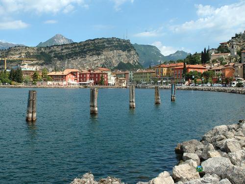 Italy Hintergrund called Lago di Garda