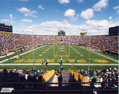 Green Bay Packers wallpaper entitled Lambeau Field