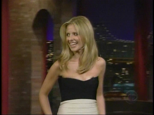 Sarah Michelle Gellar images Late Show w/ David Letterman ...