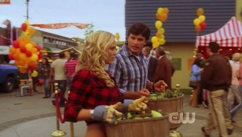 Laura and Tom Welling