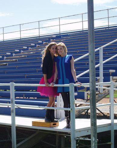 Lauren & Whitney in Teen Vogue