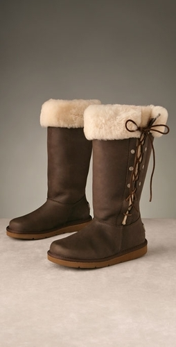 Ugg Boots wallpaper called Leather Upside Boot