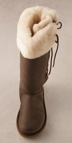 Leather Upside Boot