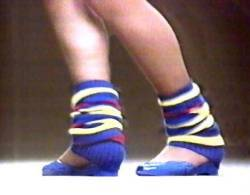 Leg Warmers In The 80's
