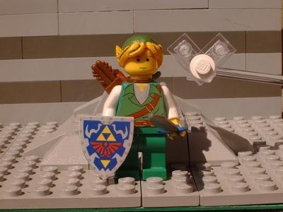 The Legend of Zelda wallpaper titled Lego Link!