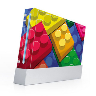 Nintendo Wii wallpaper called Lego Wii Skin