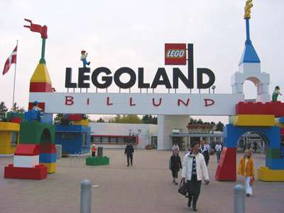 LegoLand sign in Denmark