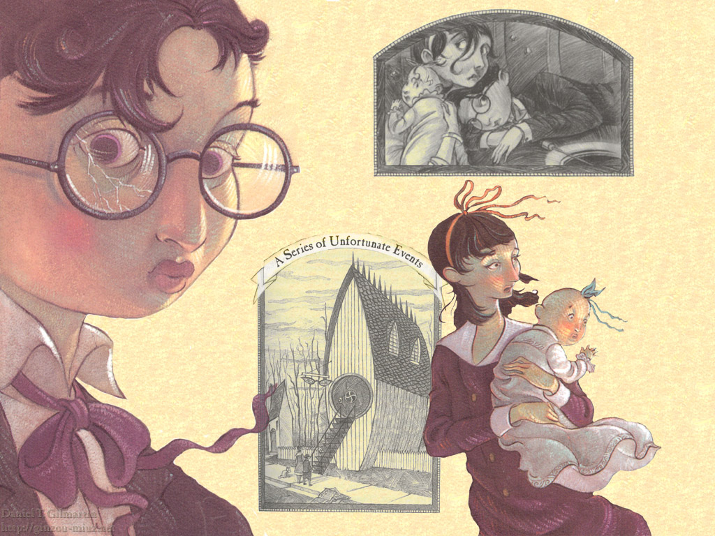 Lemony Snicket Art - a-series-of-unfortunate-events Wallpaper