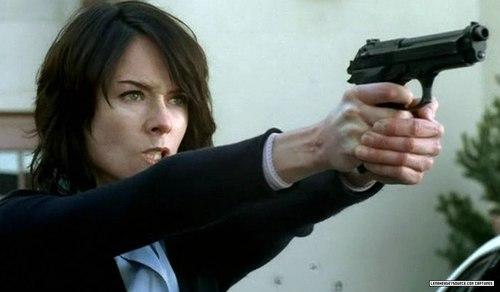 Lena as Sarah Connor