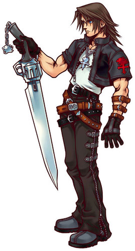kingdom hearts fondo de pantalla called Leon (Squall Leonhart)