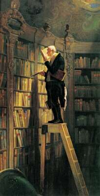 Libri da leggere wallpaper called biblioteca
