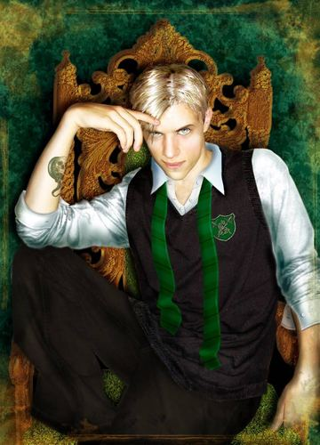 Draco Malfoy wallpaper titled Like my art?????