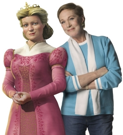Lillian and Julie Andrews
