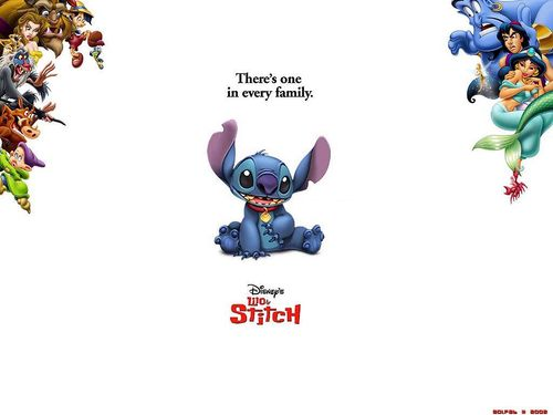 Disney wallpaper titled Lilo & Stitch