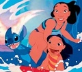 Lilo, Stitch and Nani - disney photo