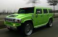 Lime Green Hummer