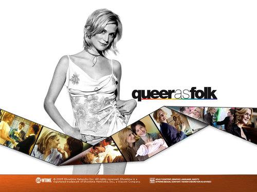 Queer As Folk wallpaper titled Lindsay