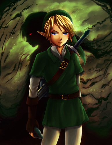 "The Legend of Zelda wallpaper titled Link ""Shadows of the Past"""