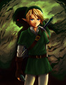 "Link ""Shadows of the Past"" - the-legend-of-zelda fan art"