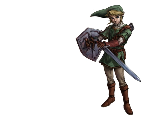 The Legend of Zelda wallpaper entitled Link (Twilight Princess)