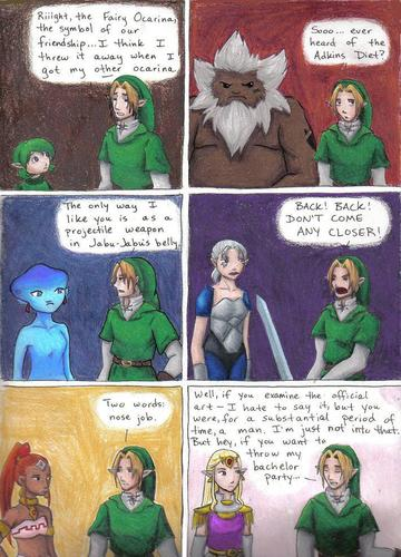 Link being harsh