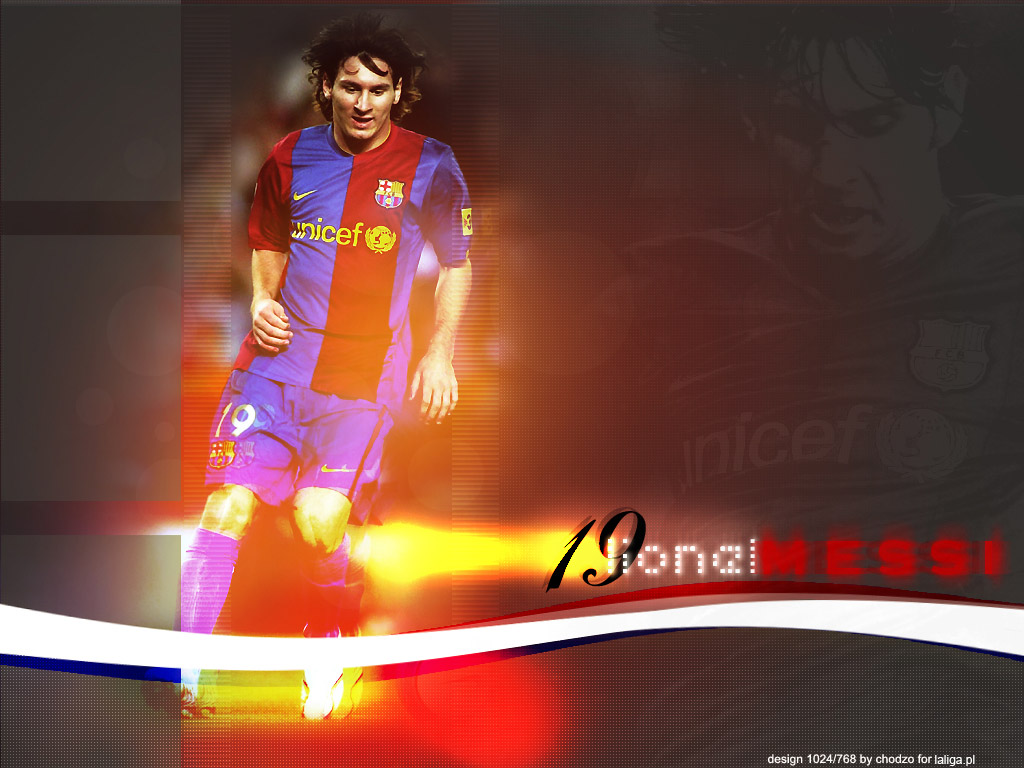 Wallpapers de messi !